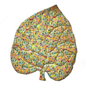 leaf mat, коврик, матрасик, плед, декор, яркие акценты для дома